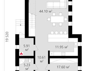 Проект стильного дома со вторым светом TMV 101 от TMV Architecture company