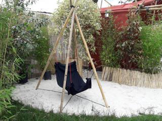 cabanesdesign 花園鞦韆與玩具