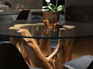BASES DE MESAS por Camacã Design em Madeira Rústico