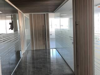 Onur Group – Akpınar civata ofis bölme sistemleri projesi Dilovası / Kocaeli: modern tarz , Modern
