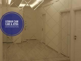 Usman Cam – Baklava Desenli Düz Ayna: modern tarz , Modern