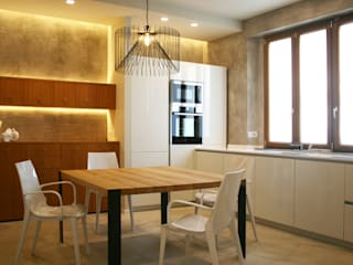 MICHELE VOLPI STUDIO INTERIOR DESIGN Modern style kitchen MDF