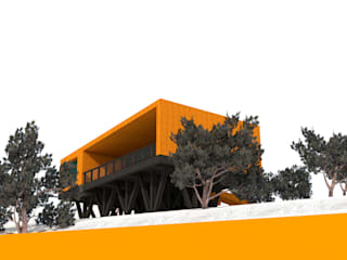 DISEÑO EN VENTA Casas estilo moderno: ideas, arquitectura e imágenes de KIMCHE ARQUITECTOS Moderno