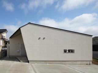 千葉市大森町の平屋 Flathouse in Omoricho,Chiba の 株式会社 神成建築計画事務所 モダン