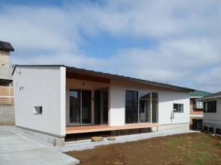 千葉市大森町の平屋 Flathouse in Omoricho,Chiba モダンな 家 の 株式会社 神成建築計画事務所 モダン