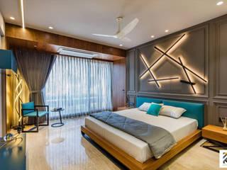 JP Decks Interior Design- High End Bedroom Design Minimalist bedroom by RK Design Studio Minimalist