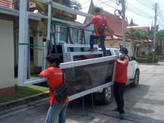 โรงงาน พัทยา กระจก ยูพีวีซี Pattaya UPVC Windows & Doors Pintu