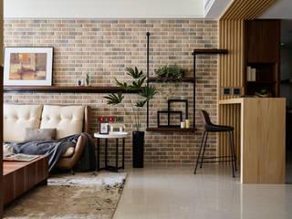 群築室內裝修設計有限公司 Couloir, entrée, escaliers originaux