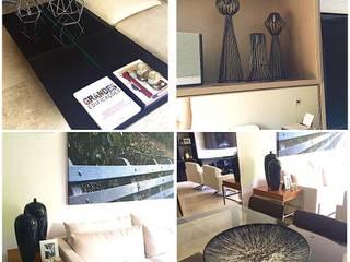 Apartamento do Casal Moderno por Aadna.Design Moderno