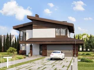 NORD проект двухэтажного дома от ТЕРРИТОРИЯ