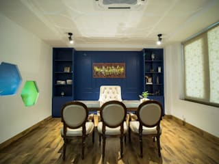 Allure Catering Studio Skywalk Designs Eclectic style living room