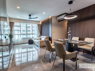 Telok Blangah Ovon Design Modern dining room