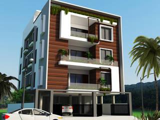 Siddhi Builders Skywalk Designs Multi-Family house