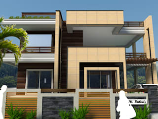 Sushant City Residence Skywalk Designs Bungalows