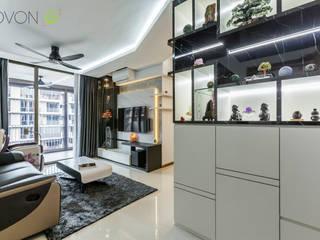 Anchorvale Treasure Crest Ovon Design Modern living room