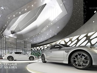 Modern car dealerships by Algedra Interior Design Modern