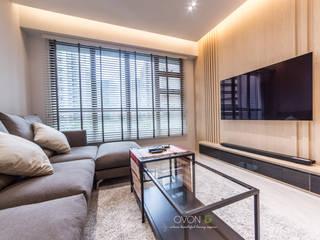 Fernvale Link Ovon Design Modern living room