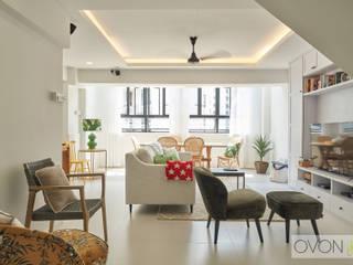Bedok Reservoir Rd Ovon Design Modern living room