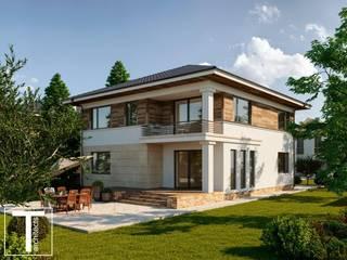 ZINA проект двухэтажного дома от ТЕРРИТОРИЯ