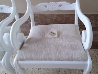 par de sillas cebeceras totalmente renovadas de ANADECO - Decoradora y Diseñadora de Interiores - La Plata Clásico