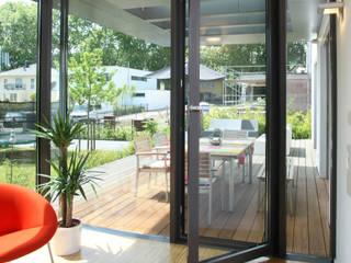 EFH Koblenz Moderne Wohnzimmer von architekten wendling Modern