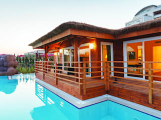 Clt Ahşap Ev Çağlar Wood House Akdeniz