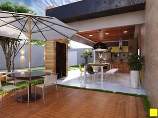 Nowoczesne domy od Amauri Berton Arquitetura Nowoczesny