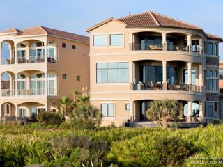 Casas de estilo mediterráneo de Chibi Moku Architectural Films Mediterráneo