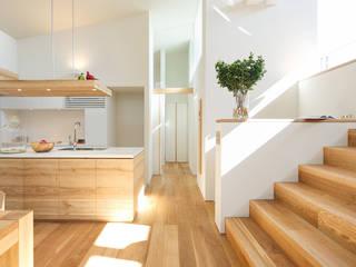 NASU CLUB Moderne Wohnzimmer Holz Weiß
