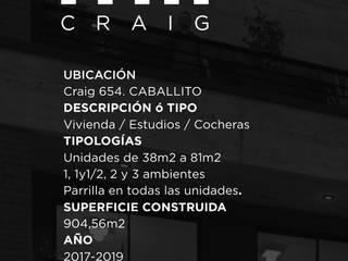 mii CRAIG . CABALLITO . Bs As . año 2017-2019 de Clip Arquitectura