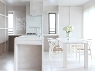 NASU CLUB Einbauküche Holz Weiß