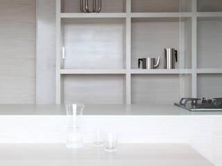 NASU CLUB KücheAufbewahrung und Lagerung Holz Weiß