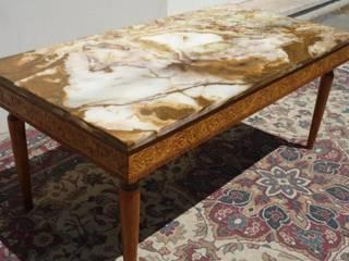 Renovacion de mesa ratona LUIS 15 de ANADECO - Decoradora y Diseñadora de Interiores - La Plata Clásico