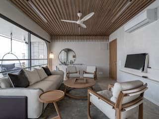 Parkview | Residential Apartment Modern living room by DESIGNER'S CIRCLE Modern