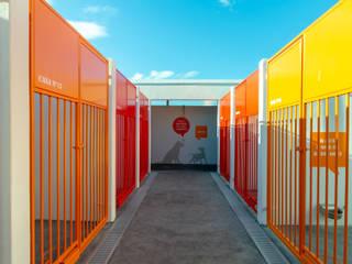 Canil Municipal de Vila Franca de Xira Centros de exposições modernos por Projecto 84 Moderno