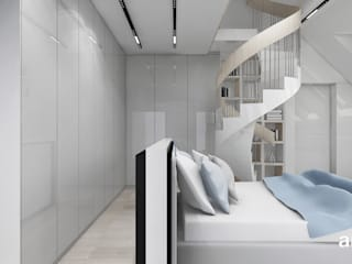 ARTDESIGN architektura wnętrz Dormitorios infantiles de estilo moderno
