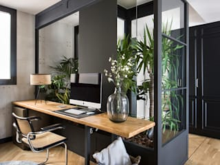 Modern Study Room and Home Office by Egue y Seta Modern