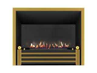 Очаг Bergamo с автоматическим топливным блоком Smart Fire A3 от BIOART-KAMIN