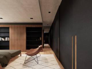 Saulo Magno Arquiteto Kamar Tidur Minimalis Black
