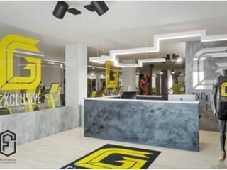Palestra G-Exclusive Gym Palestra in stile industriale di Architetto Francesca Orefice Industrial