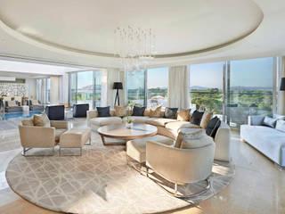 Conrad Hotel Hotéis modernos por ALGA by Paulo Antunes Moderno