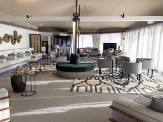 Desert Home Salas de estar clássicas por ALGA by Paulo Antunes Clássico