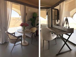 Desert Home Espaços de trabalho clássicos por ALGA by Paulo Antunes Clássico
