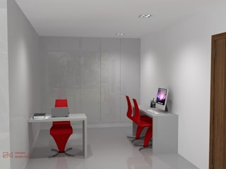 Crie o seu espaço! por Enigma Mobiliário Minimalista