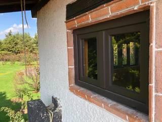 CRISVISA NAUCALPAN PVC uPVC windows Plastic Brown