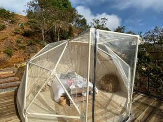 Domo Geodesico Glamping Habitaciones modernas de MECANO Moderno