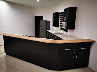 Carpintería Fabricaciones Peña Unit dapur Kayu Wood effect