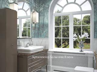 Архитектурное Бюро 'Капитель' ห้องน้ำ เซรามิค White