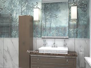 Архитектурное Бюро 'Капитель' ห้องน้ำ หินอ่อน Turquoise