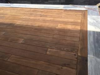 Thi công sàn gỗ chiu liu biệt thự An Nguyễn - Nha Trang: Châu Á  by cty CP Kiên Linh Việt Nam, Châu Á